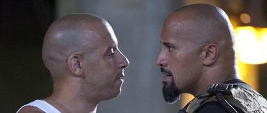 Ako lang ba ang hindi kumportable sa tingin ni Vin Diesel sa mga labi ni The Rock?